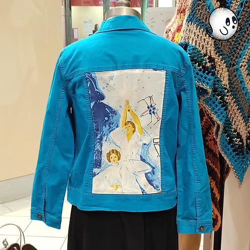 Star Wars Reworked Denim Jacket - Womens Large