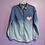 Thumbnail: Heart Painted Denim Shirt - Women's Large