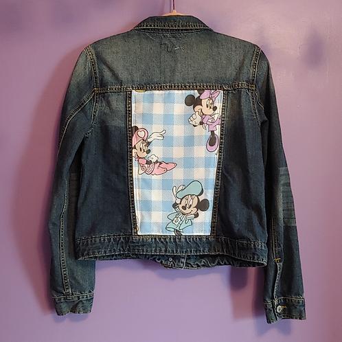 Minnie Mouse Denim Jacket - Girls Large