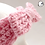 Thumbnail: Cinched Bow Pink Crochet Ear Warmer