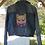 Thumbnail: Cat Hand Painted Denim Jacket - Womens Large