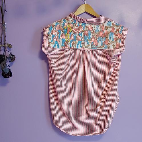 Where's Waldo Reworked Shirt - Women's Small