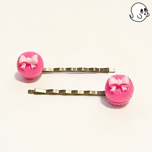 Cupcakes Hair Clip Set