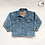 Thumbnail: Mermaid Hand Painted Denim Jacket - Child Small (6/7)