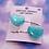 Thumbnail: Glitter Hearts Hair Clip Set