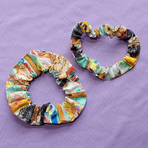 Cats and Candies Scrunchie