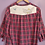 Thumbnail: Dumbo Reworked Flannel Dress - Women's Medium (8)