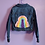 Thumbnail: Rainbow Crochet Denim Jacket - Child Medium (7-8)