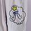 Thumbnail: Lumpy Space Princess Hand Painted Denim Pants - Women's Small (27)