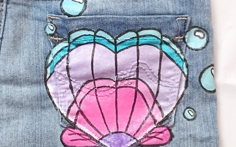 Shorts - Custom  Heart Shell_002.png