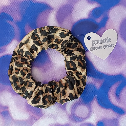 Cheetah Print Scrunchie