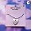 Thumbnail: Cross Heart Cord Choker