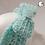 Thumbnail: Cinched Bow Blue Crochet Ear Warmer