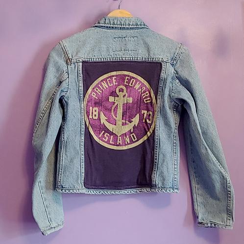 Prince Edward Island Reworked Denim Jacket - Women's Medium