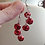 Thumbnail: Jingle Bell Chain Dangle Earring