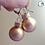 Thumbnail: Gold Ornament Dangle Earring
