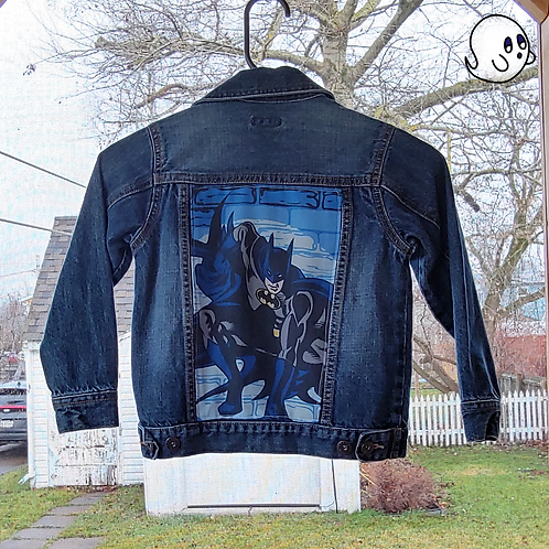 Batman Reworked Denim Jacket - Child X Small (5)