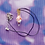 Thumbnail: Red, White and Pink Hearts Love Potion Cord Choker