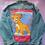 Thumbnail: Simba Reworked Denim Jacket - Women's X Large