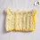 Thumbnail: Variegated Yellow Crochet Cat Ear Hat