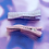Thumbnail: Pink and Purple Shimmer Alligator Clip Set