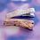 Thumbnail: Cherry Blossom Glitter Alligator Clip Set