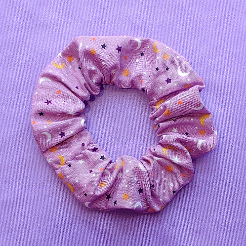 Moon and Stars Scrunchie