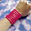 Thumbnail: Pink Star Bead Stretch Bracelet