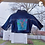 Thumbnail: Tinkerbell Reworked Denim Jacket - Infant 6 to 9 Month