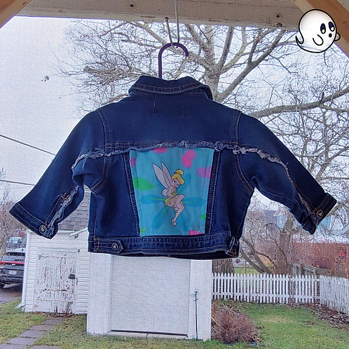 Tinkerbell Reworked Denim Jacket - Infant 6 to 9 Month