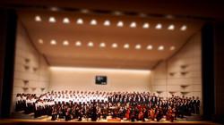 緑会合唱団第60回記念定期演奏会の様子