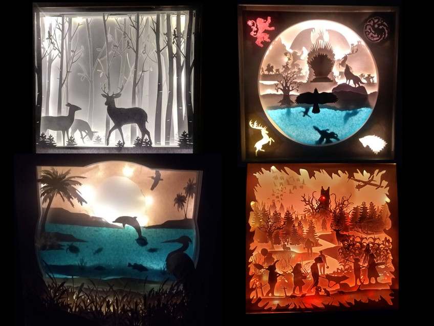 How we do it: LED 3D Shadowboxes