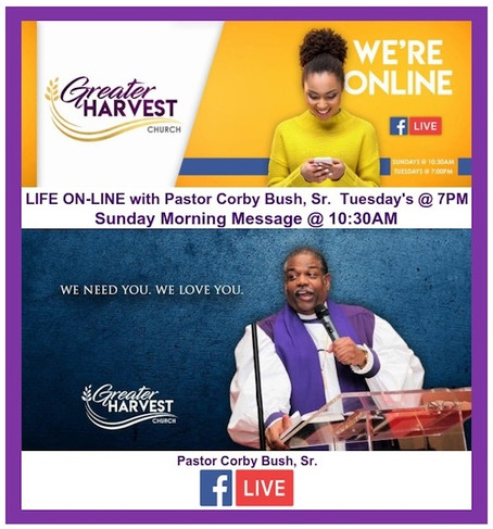 Greater Harvest - Online