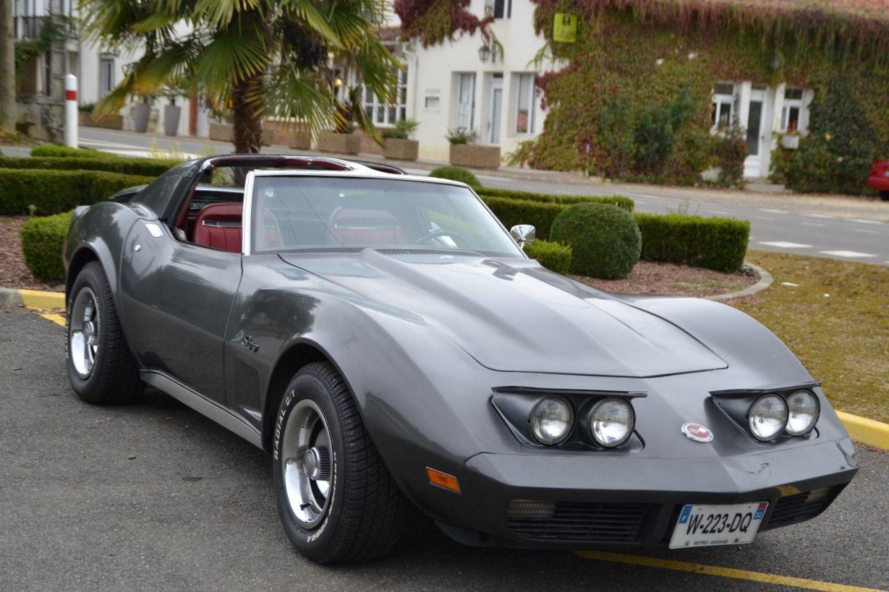 retro garage importateur voiture am ricaine corvette 74. Black Bedroom Furniture Sets. Home Design Ideas