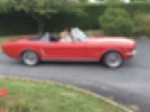 Mustang Cabriolet 65