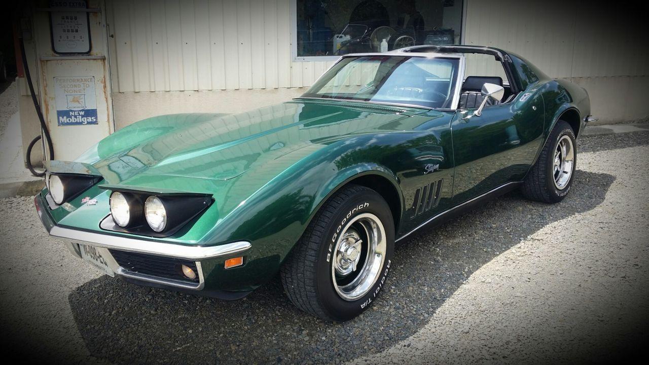 retro garage importateur voiture am ricaine corvette 69. Black Bedroom Furniture Sets. Home Design Ideas