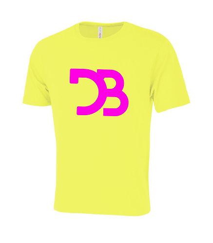 DB Logo Pink & Yellow