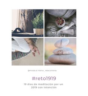19 días de Meditación por un 2019 con Intención
