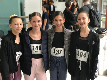 PSPA Girls audition for ABT