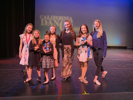 7 of PSPA's ballet dancers compete at California Dance Classics