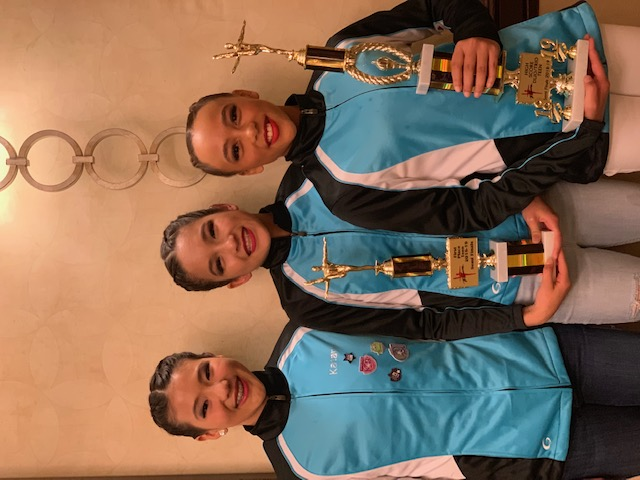 Tap Team Trio won 1st place in Teen Division and high score in duo/trio Teen division
