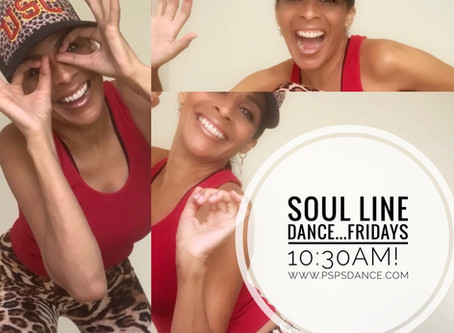 Soul Line Dance on Fridays!