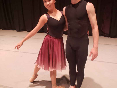 Bret coppa at Atlanta Ballet