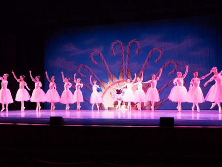 stage moments from the nutcracker