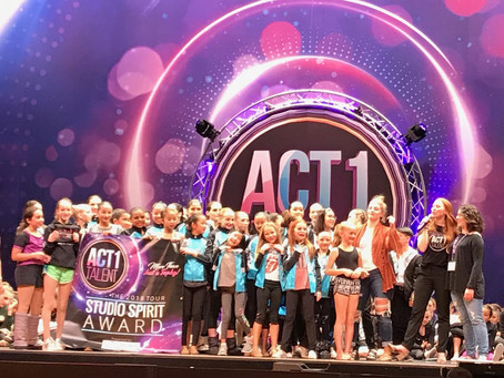 Act I Talent Competition Results are in!