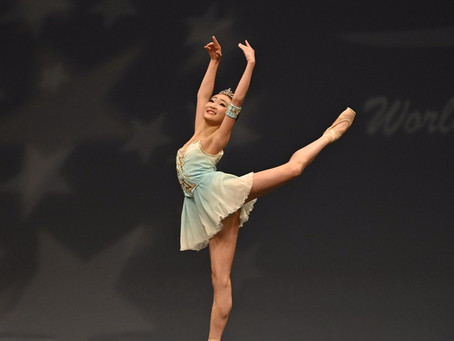 Mai Places 2nd Overall at World Ballet Competition