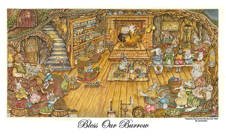 bless our burrow print.jpg