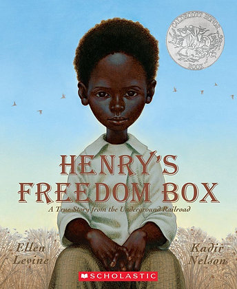 Henry's Freedom Box- A True Story from the Underground Railroad