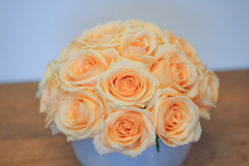 Peach Rose Dome