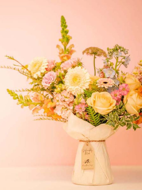 Pastel Eco-Friendly Bouquet